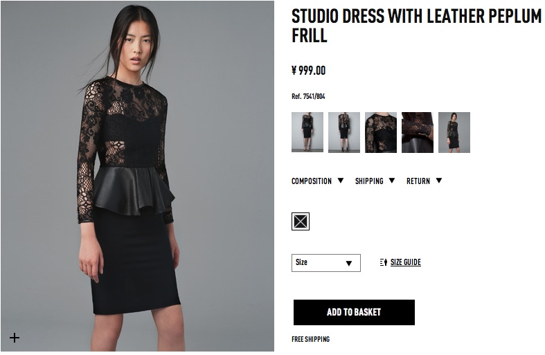 hottest picks from zara china online shop zara elleiconlee. Black Bedroom Furniture Sets. Home Design Ideas